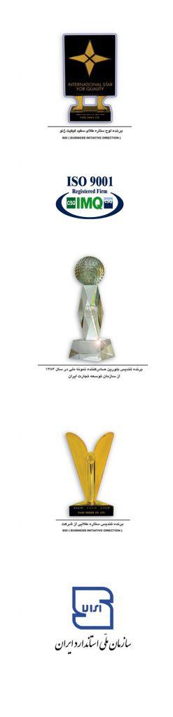 افتخارات پارس اشن